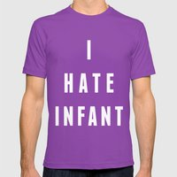 I Hate Infant Mens Fitted Tee Ultraviolet SMALL