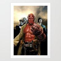 Power In Three Art Print
