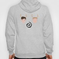 Rust & Marty from True Detective Hoody