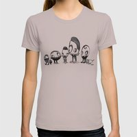 Teenie Memes 1 Womens Fitted Tee Cinder SMALL