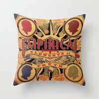 Empirical 'Elements of Truth' Album cover Throw Pillow