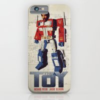 iPhone & iPod Case featuring The Toy Poster by alex lodermeier