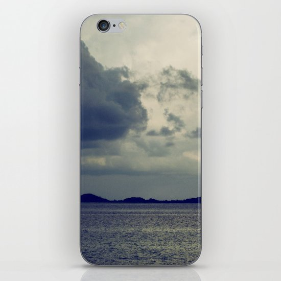 Clouds on the water... iPhone & iPod Skin