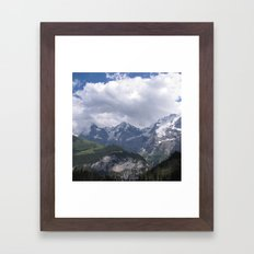 Orge, Monk, and Maiden Framed Art Print