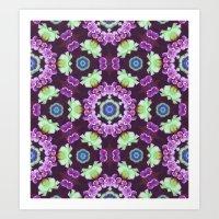 Kaleidoscope - Floral Fantasy Art Print