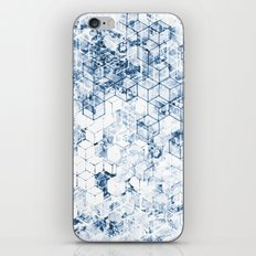 Flower Cubes iPhone & iPod Skin