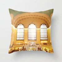 Grand Central Station NYC Throw Pillow
