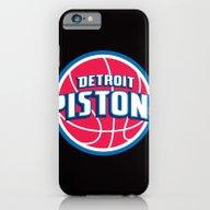 NBA - Pistons iPhone 6 Slim Case