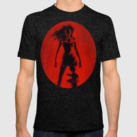 Cherry Darling Mens Fitted Tee Tri-Black SMALL