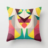 Stay Here Throw Pillow