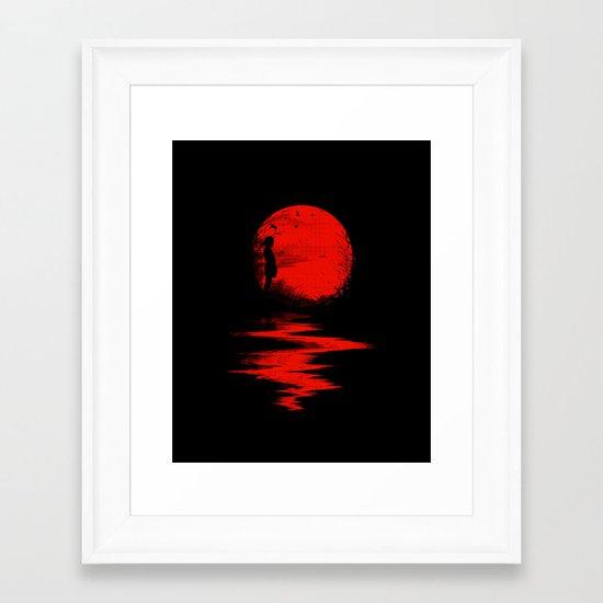 The Land of the Rising Sun Framed Art Print