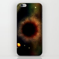 BLACK HOLE SUN - 047 iPhone & iPod Skin