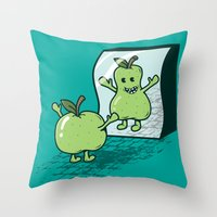I wish I were... Throw Pillow