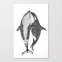 Killer Whales? Canvas Print