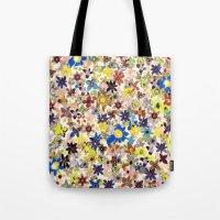Flower Filed Tote Bag
