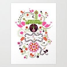 Bird Love Art Print