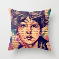 Agnes Mackenzie Throw Pillow