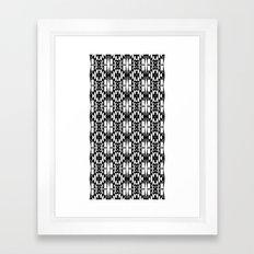 Black and White 2 Framed Art Print
