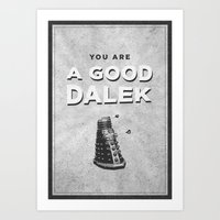 Doctor Who: A Good Dalek Art Print