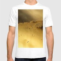 Birds In Heaven... Mens Fitted Tee White SMALL