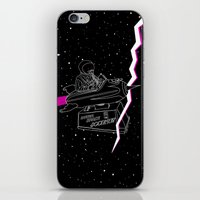 Space Journey iPhone & iPod Skin