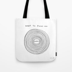 What to focus on Tote Bag