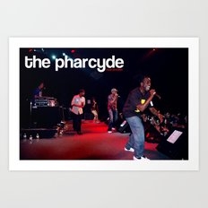 pharcyde live :::limited edition::: Art Print