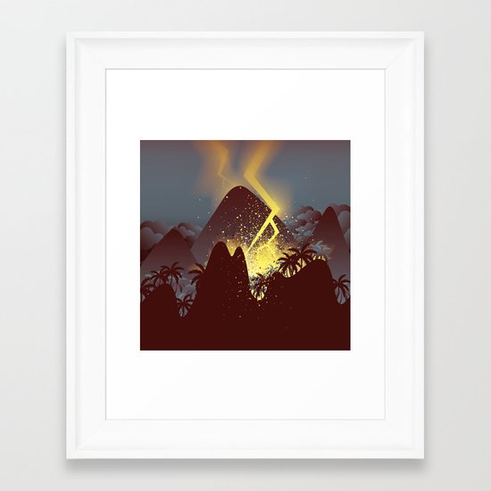 Boom! (Cropped Version) Framed Art Print