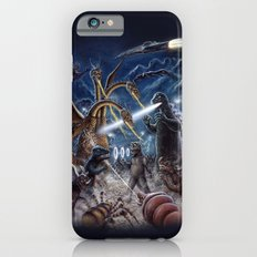 Godzilla Destroy all Monsters Monster Island Kaiju battle Slim Case iPhone 6s
