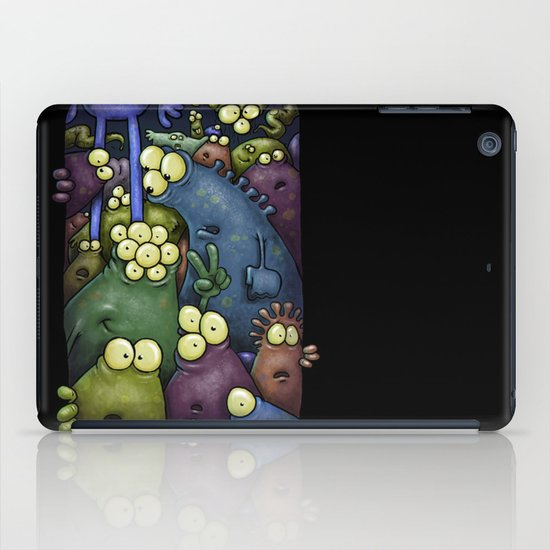 Crowded Aliens iPad Case