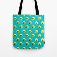 PURRFECT POLKA DOTS Tote Bag