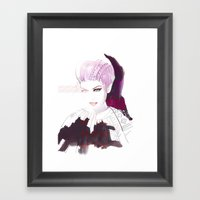 Ethno Fashion Illustrati… Framed Art Print