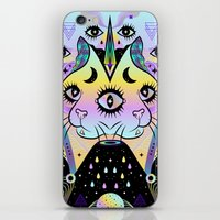 Power Of Three Cats iPhone & iPod Skin