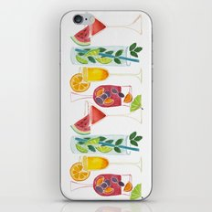 Summer Cocktails iPhone & iPod Skin