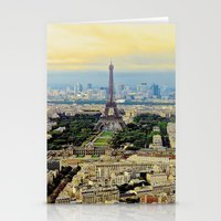 Above Paris Stationery Cards
