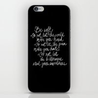 Be Soft iPhone & iPod Skin