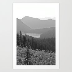 Fade Out Art Print