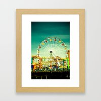 Farris Wheel  Framed Art Print