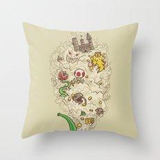 Pipe Dream Throw Pillow