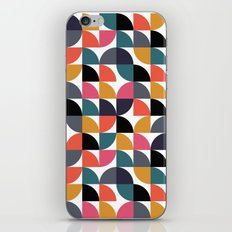 Quarter pattern iPhone & iPod Skin