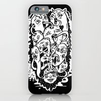 iPhone & iPod Case featuring Monster Friends by MOONGUTS (Kyle Coughlin)