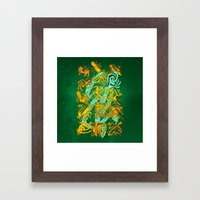 Space Codex 7801 Framed Art Print