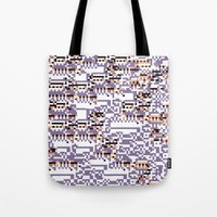 content-aware missingno Tote Bag