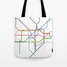 London tube Tote Bag