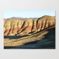 The Painted Hills II Canvas Print