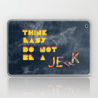 Think easy. Laptop & iPad Skin