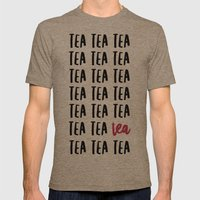 Tea Mens Fitted Tee Tri-Coffee SMALL