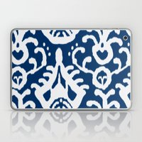 Navy Ikat Laptop & iPad Skin