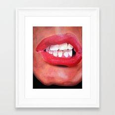 Oral Fixation 1.1 Framed Art Print