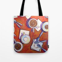 The Get Together ... Cof… Tote Bag